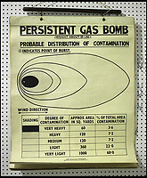 BNPS.co.uk (01202 558833)<br /> Pic: Tooveys/BNPS <br /> <br /> Total War - Chilling poster reveal the preparation that went into the threat from aerial bombing before WW2.<br /> <br /> A set of fascinating old Home Office posters have been unearthed which suggest the British were better prepared for the Second World War than previously thought.<br /> <br /> Neville Chamberlain's policy of appeasement and a long term squeeze on military spending have long been used as reasons to explain why Germany was able to get the upper hand on Britain in the early salvos of the war.<br /> <br /> But these posters, which were issued by the Air Raid Precautions Department between 1937 and July 1939, suggest the authorities realised there was no guarantee of 'peace in our time' and were taking precautions ahead of a possible conflict.<br /> <br /> In total, there are 11 instructional posters which include how to treat blister gas burns, different types of gas masks and the make-up of an incendiary bomb.