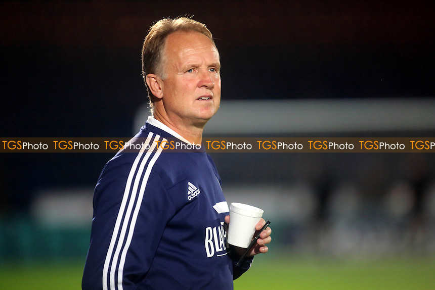 Sean O'Driscoll, Manager of Bristol City - Wycombe Wanderers vs Bristol City - Johnstones Paint Trophy 2nd Round Football at Loakes Park, High Wycombe, Buckinghamshire - 08/10/13 - MANDATORY CREDIT: Paul Dennis/TGSPHOTO - Self billing applies where appropriate - 0845 094 6026 - contact@tgsphoto.co.uk - NO UNPAID USE