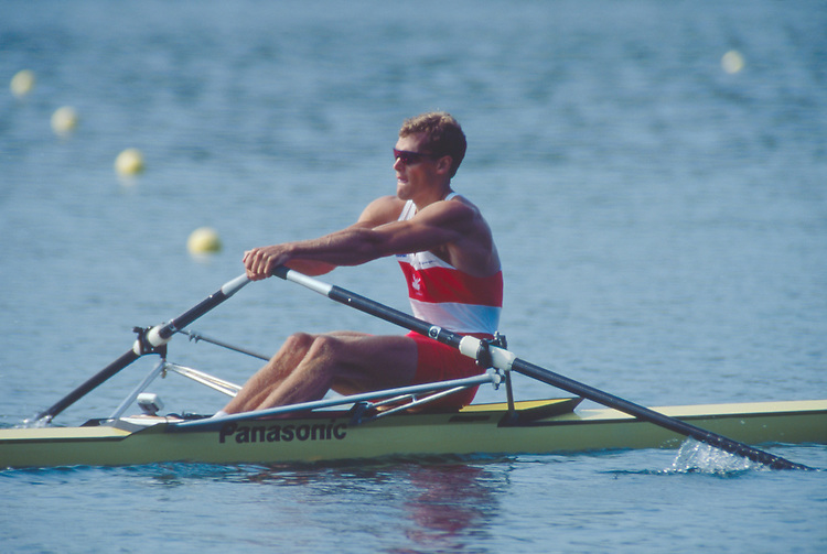 Rowing, Men's single sculls, 1995 FISA World Rowing Championships, Tampere, Finland, Rowing Canada, Canadian Men's single, Derek Porter, 7th place,.