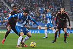 League Santander 2017-2018 - Game: 22.<br /> RCD Espanyol vs FC Barcelona: 1-1.<br /> Semedo vs Granero.