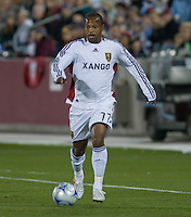 Real Salt Lake midfielder Andy Williams. Real Salt Lake earned a tied versus the Colorado Rapids securing a place in the postseason. Dick's Sporting Goods Park, Denver, Colorado, October, 25, 2008. Photo by Trent Davol/isiphotos.com