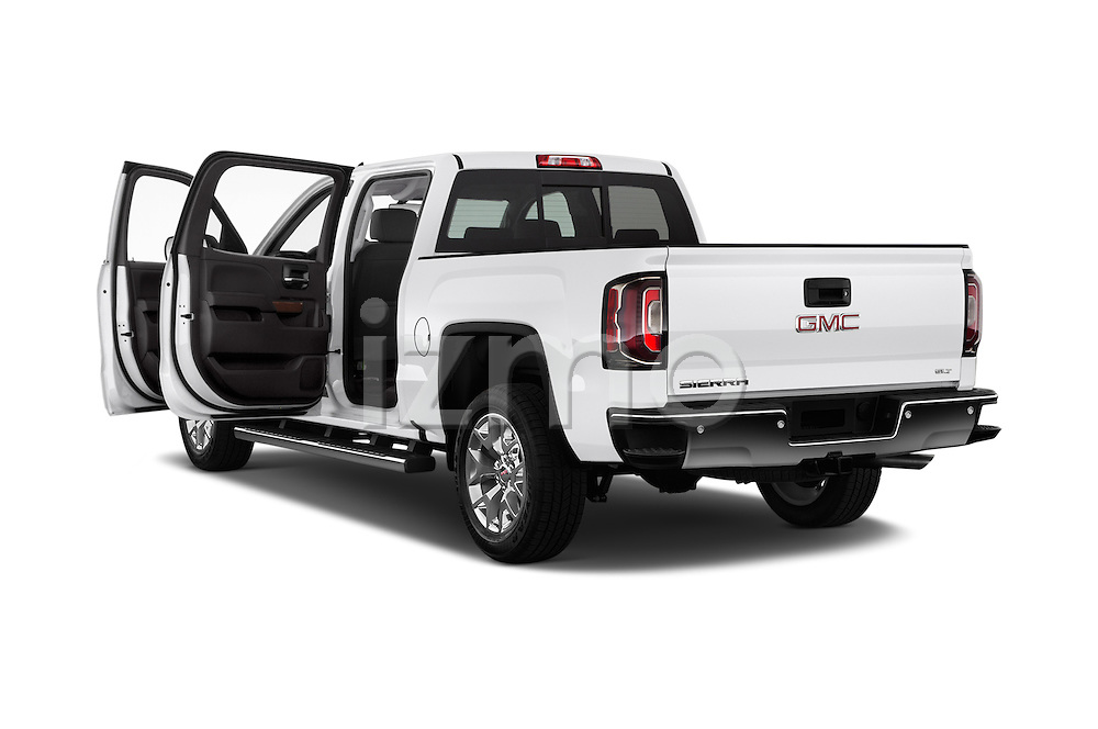 Car images of 2017 GMC Sierra-1500 Crew-Cab-Short-Box-SLT 4 Door Pickup Doors