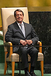 LOS general debate – 27 September<br /> <br /> AM<br /> <br /> His Excellency Nicos Anastasiades, President, Republic of Cyprus
