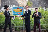 2016/08/02 Berlin | Cuvrybrache | Wahlkampf 2016 Junge Liberale