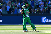 10th February 2019, Melbourne Cricket Ground, Melbourne, Australia; Australian Big Bash Cricket, Melbourne Stars versus Sydney Sixers;  Sebastian Gotch and Ben Dunk of the Melbourne Stars celebrate their win