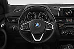 Car pictures of steering wheel view of a 2018 BMW X2 Standard 5 Door SUV