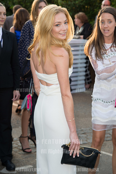 Actress Clara Paget at The Serpentine Gallery Summer Party 2015 at The Serpentine Gallery, London.<br /> July 2, 2015  London, UK<br /> Picture: Steve Vas / Featureflash