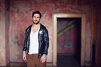 Kerry footballer Paul Galvin. Shot at no 13 Great Georges St, Dublin for Yvonne Hogan at the Irish Independent..Pictures By James Horan/Collins Photos.