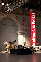 A variety of shots from the Venice 54th Biennale International Art Exhibition