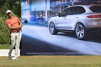 Lucas Bjeregaard (DEN) tees off the 16th tee during Saturday's Round 3 of the Porsche European Open 2018 held at Green Eagle Golf Courses, Hamburg Germany. 28th July 2018.<br /> Picture: Eoin Clarke | Golffile<br /> <br /> <br /> All photos usage must carry mandatory copyright credit (&copy; Golffile | Eoin Clarke)