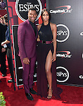 Russell Wilson and Ciara attends The 2015 ESPY Awards held at The Microsoft Theatre  in Los Angeles, California on July 15,2015                                                                               © 2015 Hollywood Press Agency