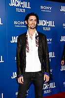 "LOS ANGELES - NOV 6:  Tyson Ritter at the ""Jack and Jill"" Premiere at the Village Theater on November 6, 2011 in Westwood, CA"