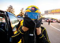 Sep 27, 2019; Madison, IL, USA; NHRA funny car driver J.R. Todd during qualifying for the Midwest Nationals at World Wide Technology Raceway. Mandatory Credit: Mark J. Rebilas-USA TODAY Sports