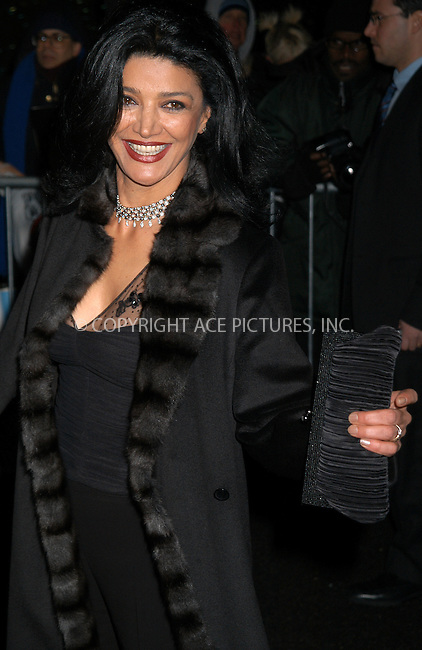 Actress Shohreh Aghdashloo arrives at the 2003 National Review Board Awards Gala at the 'Tavern on the Green', New York City. January 13 2004. Please byline: AJ SOKALNER/NY Photo Press.   ..*PAY-PER-USE*      ....NY Photo Press:  ..phone (646) 267-6913;   ..e-mail: info@nyphotopress.com