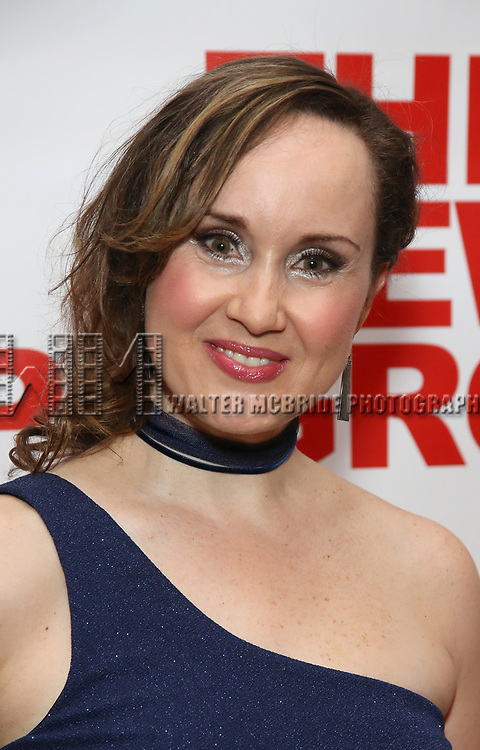 """Elizabeth Loyacano attends the Off-Broadway Opening Night Premiere of  """"Jerry Springer-The Opera"""" on February 22, 2018 at the Green Fig Urban Eatery in New York City."""