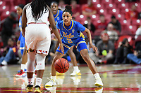 College Park, MD - March 25, 2019: UCLA Bruins guard Ahlana Smith (2) gets back on defense during second round game of NCAAW Tournament between UCLA and Maryland at Xfinity Center in College Park, MD. UCLA advanced to the Sweet 16 defeating Maryland 85-80.(Photo by Phil Peters/Media Images International)