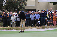 Joaquin Niemann (International) on the 10th during the First Round - Four Ball of the Presidents Cup 2019, Royal Melbourne Golf Club, Melbourne, Victoria, Australia. 12/12/2019.<br /> Picture Thos Caffrey / Golffile.ie<br /> <br /> All photo usage must carry mandatory copyright credit (© Golffile | Thos Caffrey)