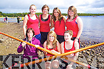 Fossa Minor Girls Crew Front from left: Diane Breen, Aoife Giles and Noreen Griffin. Back Row: Liz Doyle, Aoife Coffey, Lorna Doherty and Chloe Tangney pictured at Killarney Regatta at O'Mahonys point, Killarney on Sunday.