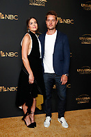 LOS ANGELES - AUG 13:  Mandy Moore, Justin Hartley at the NBC And Universal EMMY Nominee Celebration at the Tesse Restaurant on August 13, 2019 in West Hollywood, CA