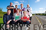 We won't pay: The Listowel Dirha Cottages residents who said they are disgusted with the suggestion that they pay Kerry County Council EUR8,000 per house to connect to a nearby sewage system. Pictured front l-r: David and Mary Toomey with Phil Keating. Back l-r: Jim Halpin, Maureen Quinn, Maura Lynch and Betty Heaphy.   Copyright Kerry's Eye 2008