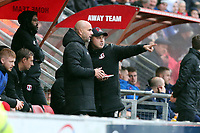 O's new boss Carl Feltcher with asst Ross Embleton during Leyton Orient vs Carlisle United, Sky Bet EFL League 2 Football at The Breyer Group Stadium on 26th October 2019