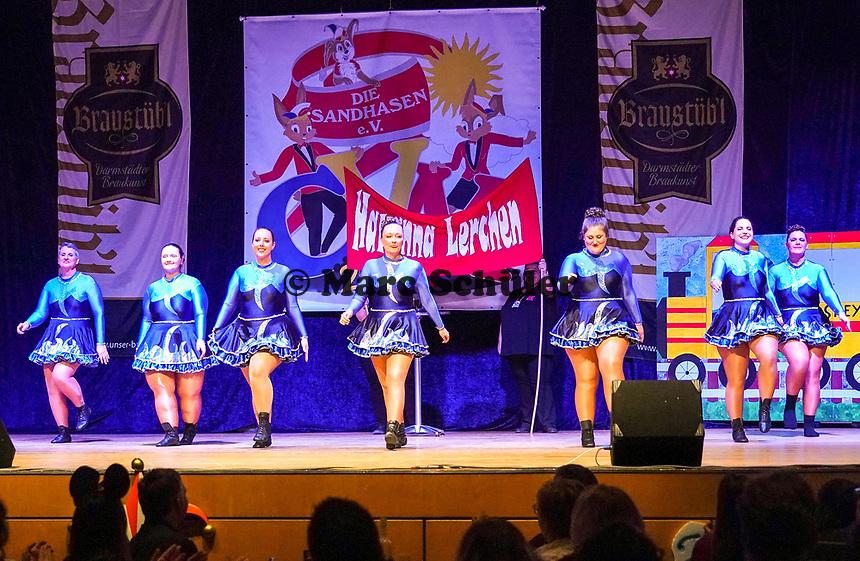 """Neue Präsidentengarde """"Havanna Lerchen"""" tritt auf - Mörfelden-Walldorf 15.11.2019: Eröffnungssitzung der Sandhasen"""