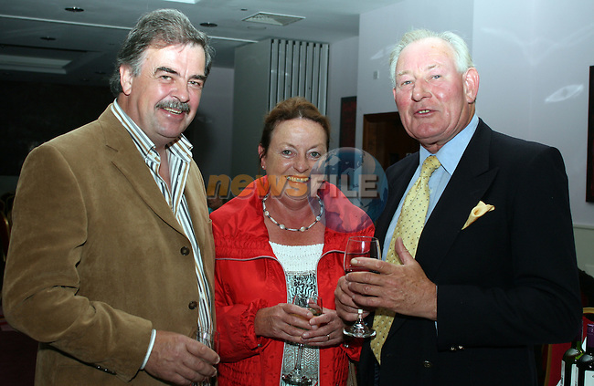 Kenneth Lynch, Toni Leech and Garry Lynch at the launch of the Laytown Races in the Bettystown Court Hotel...Photo NEWSFILE/Jenny Matthews.(Photo credit should read Jenny Matthews/NEWSFILE)....This Picture has been sent you under the condtions enclosed by:.Newsfile Ltd..The Studio,.Millmount Abbey,.Drogheda,.Co Meath..Ireland..Tel: +353(0)41-9871240.Fax: +353(0)41-9871260.GSM: +353(0)86-2500958.email: pictures@newsfile.ie.www.newsfile.ie.FTP: 193.120.102.198.