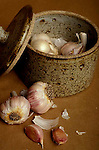 Garlic buds, cloves