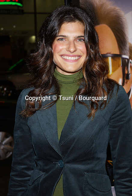 Lake Bell arriving at the Team American: World Police Premiere at the Chinese Theatre in Los Angeles. October 11, 2004.