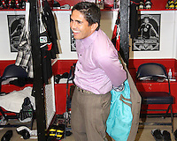 Jaime Moreno #99 starts to get ready during the final appearance of Jaime Moreno in a D.C. United uniform, at RFK Stadium, in Washington D.C. on October 23, 2010. Toronto won 3-2.
