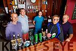 The O'Sullivan family, l to r, Darren, Mark and Fergal with Adrian and Gerard O'Sullivan in the Castle Bar on Saturday.