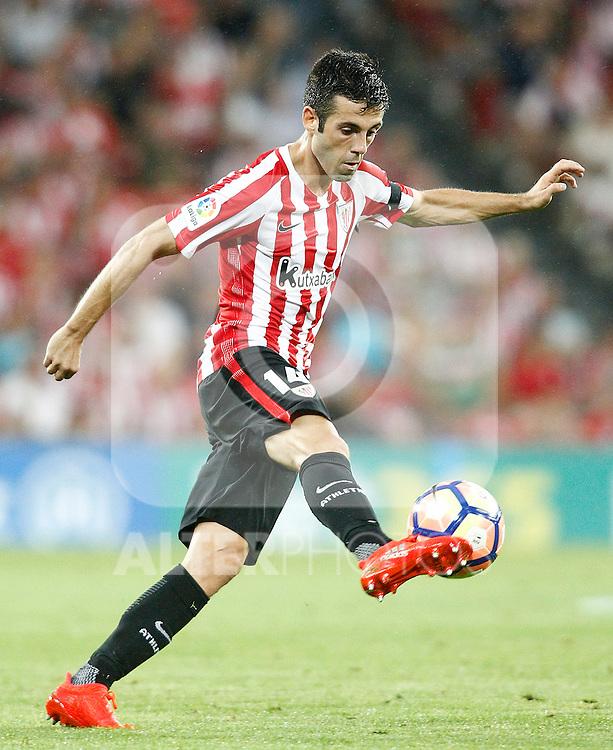 Athletic de Bilbao's Markel Susaeta during La Liga match. August 28,2016. (ALTERPHOTOS/Acero)