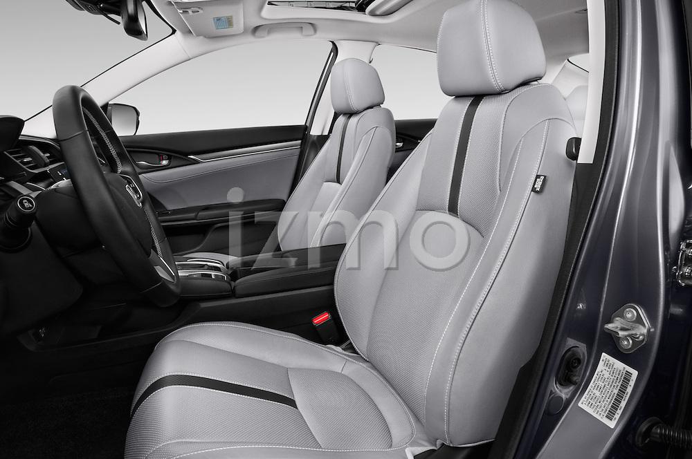 Front seat view of 2018 Honda Civic Touring CVT 4 Door Sedan Front Seat  car photos