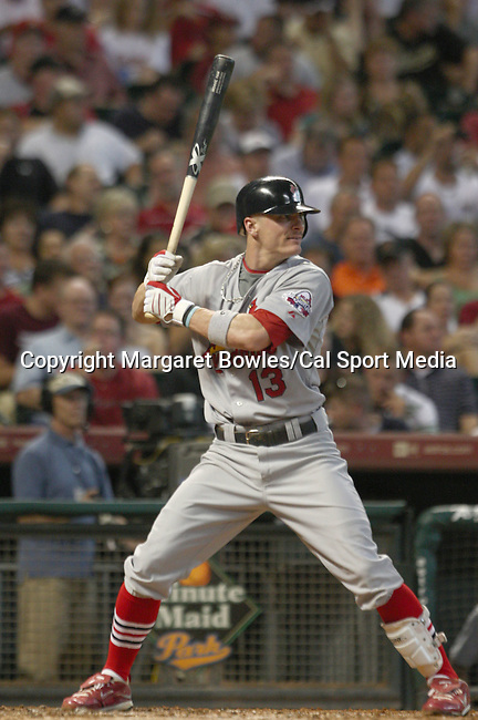 July 22, 2009:  St. Louis Cardinals shortstop Brendan Ryan waits for the pitch. The Houston Astros defeated the St. Louis Cardinals 4-3 at Minute Maid Park in Houston, Texas. Margaret Bowles/CSM