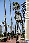 Clock at Newport Beach