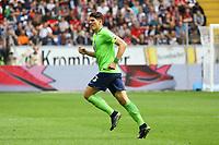Mario Gomez (VfL Wolfsburg) ist Kapitän - 06.05.2017: Eintracht Frankfurt vs. VfL Wolfsburg, Commerzbank Arena, 32. Spieltag