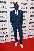 "Oswald Boateng<br /> arriving for the ""Widows"" special screening in association with Vogue at the Tate Modern, London<br /> <br /> ©Ash Knotek  D3457  31/10/2018"