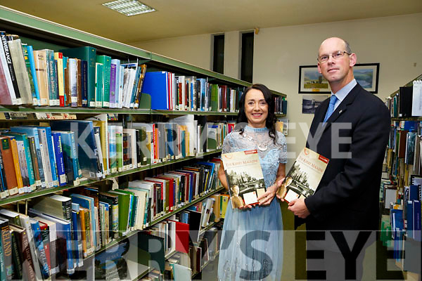 Launching the The Kerry Archaeological and Historical Society Magazine 2018 at the Kerry County Library Tralee on Tuesday was John Breen, Kerry County Council Director of Services, with Marie O'Sullivan, President Kerry Archaeological and Historical Society