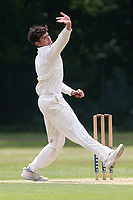 J Ellis-Grewal in bowling action for Wanstead during Wanstead and Snaresbrook CC vs Ilford CC, Shepherd Neame Essex League Cricket at Overton Drive on 17th June 2017