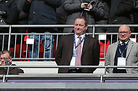 Newcastle United owner Mike Ashley during Tottenham Hotspur vs Newcastle United, Premier League Football at Wembley Stadium on 2nd February 2019