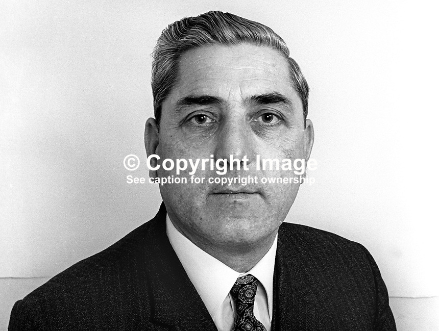 Lawrence Lannie, candidate, N Ireland Labour Party, election, Castlereagh Borough Council, May 1973, 197305000274<br /> <br /> Copyright Image from Victor Patterson, 54 Dorchester Park, Belfast, UK, BT9 6RJ<br /> <br /> t1: +44 28 9066 1296 (from Rep of Ireland 048 9066 1296)<br /> t2: +44 28 9002 2446 (from Rep of Ireland 048 9002 2446)<br /> m: +44 7802 353836<br /> <br /> e1: victorpatterson@me.com<br /> e2: victorpatterson@gmail.com<br /> <br /> The use of my copyright images is subject to my Terms &amp; Conditions.<br /> <br /> It is IMPORTANT that you familiarise yourself with them. They are available on my website at www.victorpatterson.com.<br /> <br /> None of my copyright images may be used on a website unless they are visibly watermarked, i.e. &copy; Victor Patterson within the body of the visible image. Metadata denoting my copyright must NOT be deleted. <br /> <br /> Web use is extra at currently recommended NUJ rates.