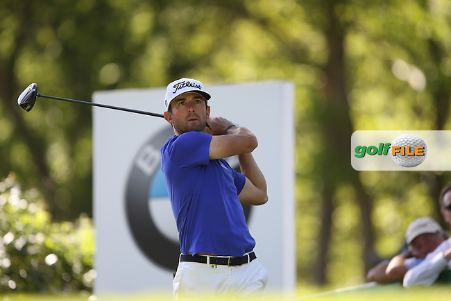 Wade Ormsby (AUS) drives the 17th during Round One of the 2015 BMW PGA Championship over the West Course at Wentworth, Virginia Water, London. 21/05/2015Picture David Lloyd, www.golffile.ie.