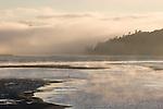 Northern California, tidal river, sunrise, Highway 101, California, USA,.
