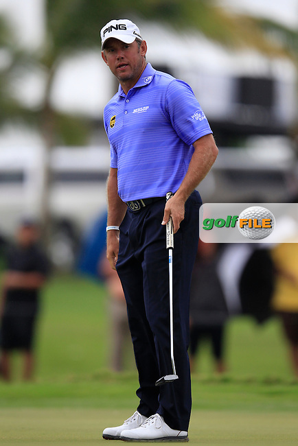 Lee Westwood (ENG) during the final round of the WGC Cadillac Championship, Blue Monster, Trump National Doral, Doral, Florida, USA<br /> Picture: Fran Caffrey / Golffile