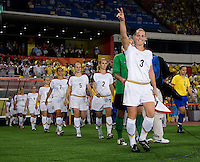 Christie Rampone. The USWNT defeated Brazil, 1-0, to win the gold medal during the 2008 Beijing Olympics at Workers' Stadium in Beijing, China.
