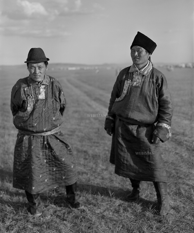 Inner Mongolia. 2008: The brothers<br /> <br /> Mongolie interieure. 2008: Freres