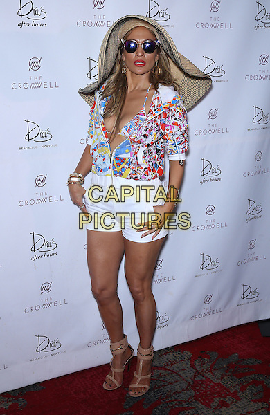 29 May 2016 - Las Vegas, Nevada - Jennifer Lopez.  Jennifer Lopez Makes Drai&rsquo;s Las Vegas Hosting Debut at CARNIVAL DEL SOL at Drai&rsquo;s Beachclub at the Cromwell.  <br /> CAP/ADM/MJT<br /> &copy; MJT/ADM/Capital Pictures