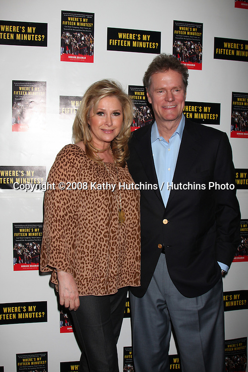 "Kathy & Rick Hilton.Howard Bragman's Book Party for ""Where's My Fifteen Minutes"" at the Chateau Marmont Hotel in West Los Angeles, CA on .January 14, 2009.©2008 Kathy Hutchins / Hutchins Photo..                ."