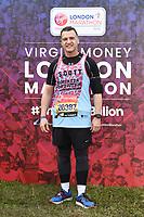 Scott Mitchell<br /> at the start of the London Marathon 2019, Greenwich, London<br /> <br /> ©Ash Knotek  D3496  28/04/2019