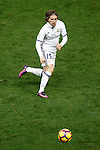 Real Madrid's Luka Modric during La Liga match. November 19,2016. (ALTERPHOTOS/Acero)